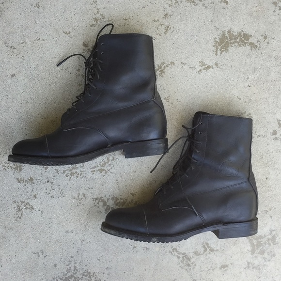 Equestrian Lace Up Ankle Boots | Poshmark